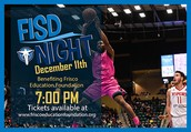FISD Night with the Texas Legends