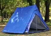 'A' tent
