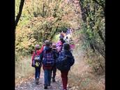Hiking in Logan Canyon