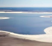Traditional Owners at lake eyre