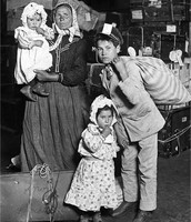Family at Ellis Island