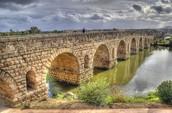Puentes de Mérida y Alcántara.