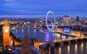 Ride the London Eye in London,UK