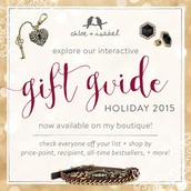 Forgot a gift?  Not sure what to get her? Use this Holiday gift guide to find what you need!