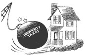 You pay property tax for you home