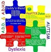 ADD, ADHD, AUTISM, DYSLEXIA