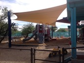 Shade Structure is complete!