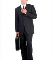 Male business attire