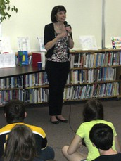 Author Visit: Margaret Peterson Haddix