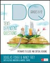 Text Dependent Questions Book Study