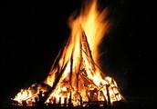 Bonfire! S'mores! Friends! Laughs!
