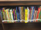 Library Books - Math Style!