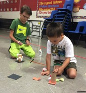 Makerspace with our K-1 Buddies