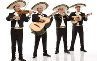 A traditional Mariachi band.