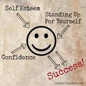 Fostering confidence and positive self esteem