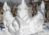 Les Sculptures de Neige