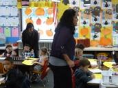 Both teachers should be sharing instructional tasks