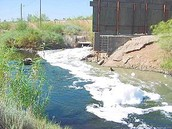Raw Sewage Passes In Mexicali to Calexico, California