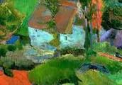 """""""Landscape at Pont Aven"""""""