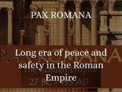 Description of the Pax Romana