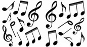 Variety of Music Notes