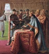Magna Carta Painting