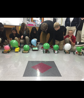 Mrs. O's students created balloon powered cars
