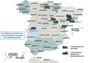 Situación de las centrales nucleares en España