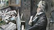 Beethoven Working on Piano Sonata No. 8