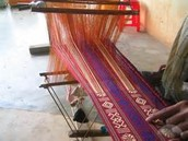 About silk weaving