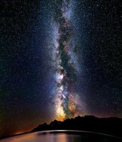 See the Milkyway over Lake Titicaca, Peru