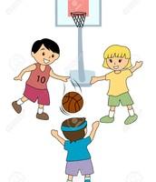 Me gustaba jugar al básquetbol porque era muy atlético.