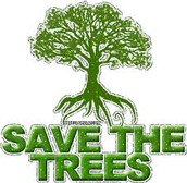 Save the trees!