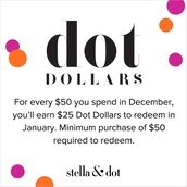It's time to redeem your Dot Dollars!