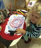 Kate works on large circular motions