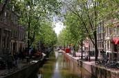 Cycle through Amsterdam