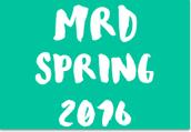 MRD Spring 2016