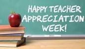 Teacher Appreciation Week Events!