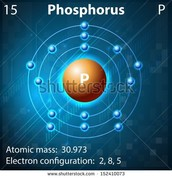 atomic shell of phosphorus
