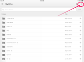 Step 1: Open Your Google Drive App on Your iPad