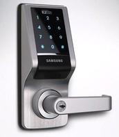 Keypad Door Handle
