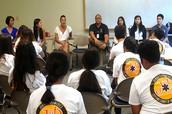 Junior Paramedics visit JABSOM