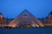 Lourve Pyramid