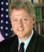 BILL CLINTON WAS PRESIDANT