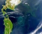 Visão do satélite
