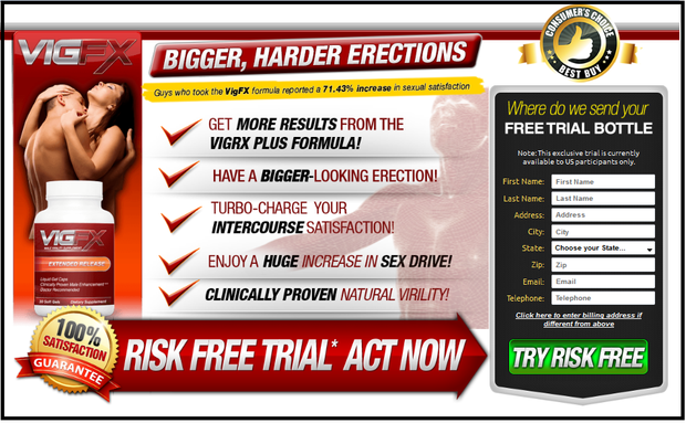 VigfX Trial Male Enhancement Pills