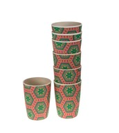 BAMBOO CUPS 6 SET