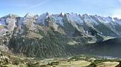 Juste en face des Aravis et du Mont Blanc