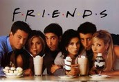 Being with friend and watching Friends