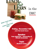 Library Lunch & Learn - TODAY!